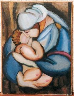 Tamara de Lempicka - Maternite