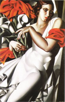 Tamara de Lempicka - in red