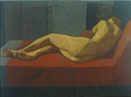 Felice Casorati - Nudo