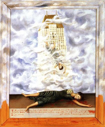 Frida Kahlo - Suicide_of_Dorothy_Hale