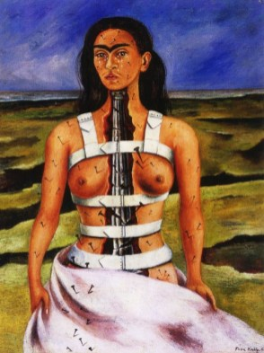 Frida Kahlo - coloana_franta