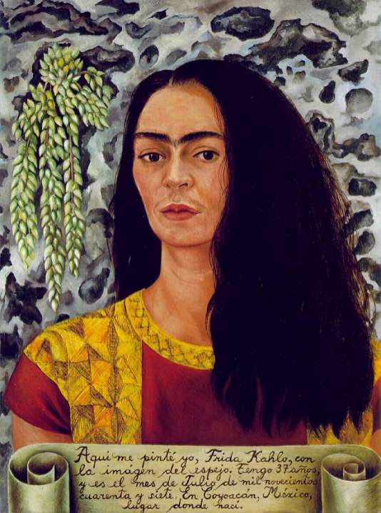 Frida Kahlo - loose_hair