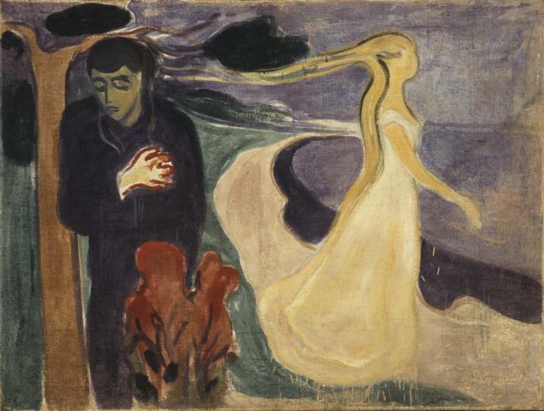Edvard Munch - Separation 1896