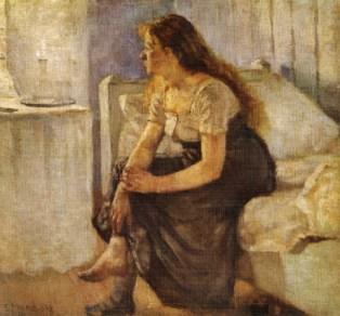 Edvard Munch - Morning-1884