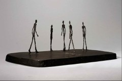 Alberto Giacometti - La piazza