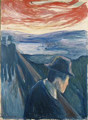 Edvard Munch - Despair, 1892