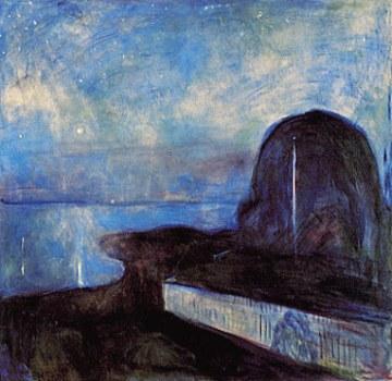 Edvard Munch - Starry night