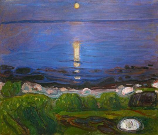 Edvard Munch - Summer night