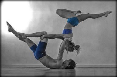 AcroYoga - Ewa i Michał w Astanga Yoga Studio