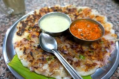 Onion dosa (kuchnia południowych Indii)
