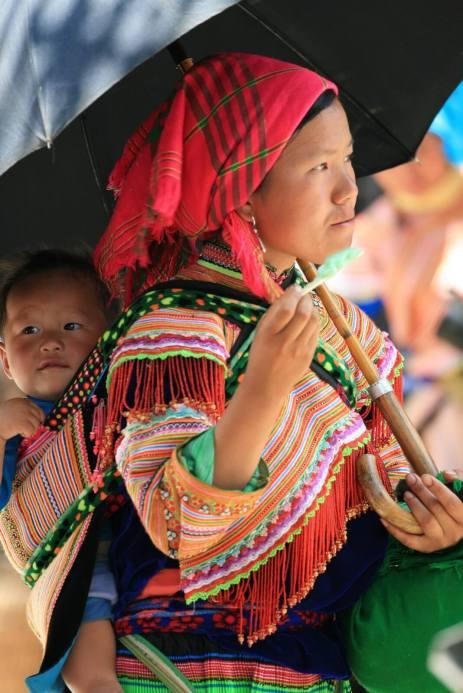 Flower Hmong