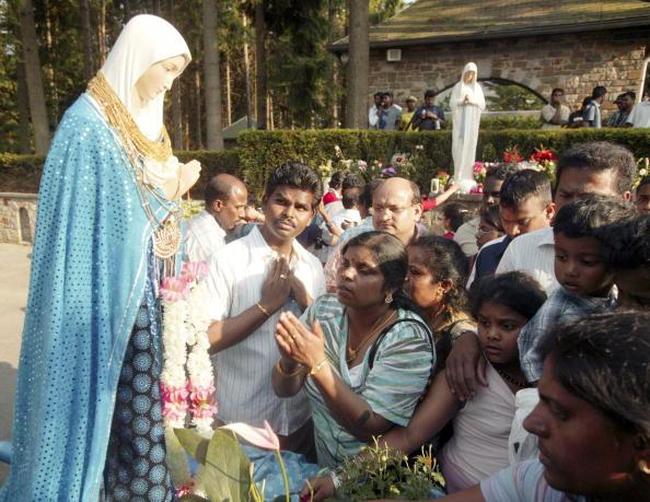 Catholics Embark On Banneux Pilgrimage