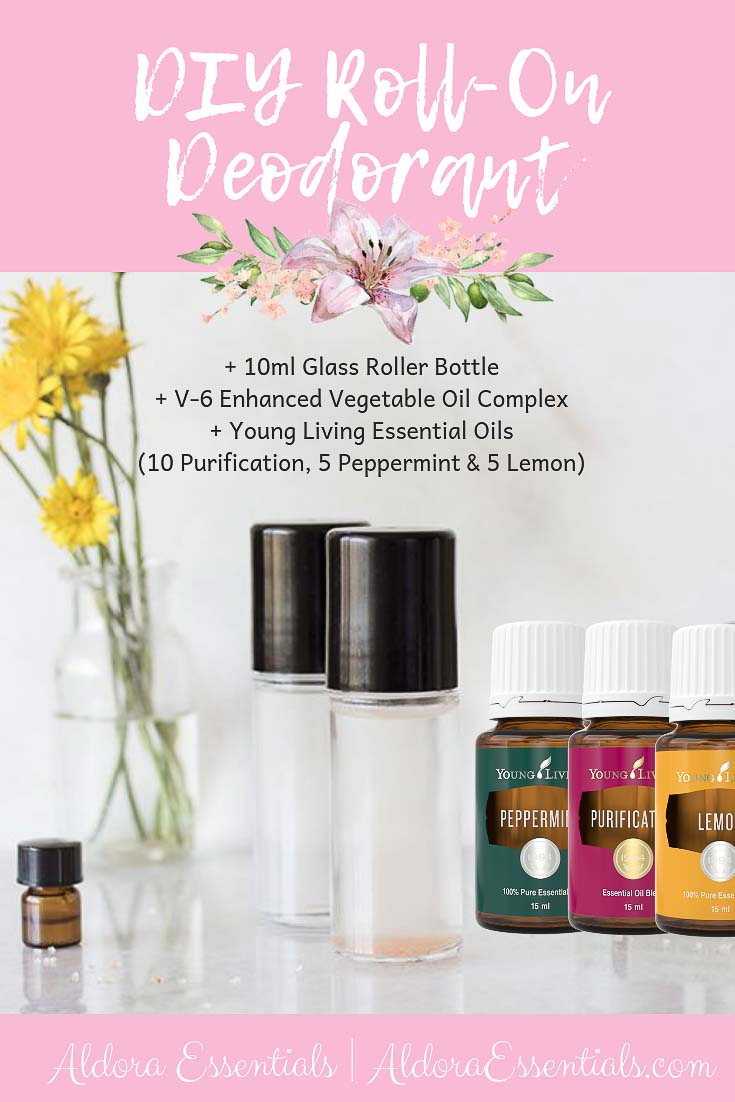 Deodorant, Young Living, Essential Oils, Natural Deodorant, DIY, Purification