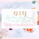 DIY, Bentonite Clay Face Mask, Young Living Essential Oils, Acne