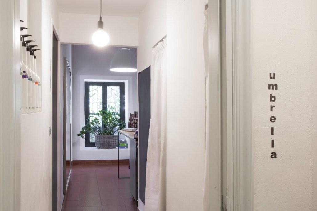 umbrella aldo ravarotto colorazione naturale interni salone ingresso