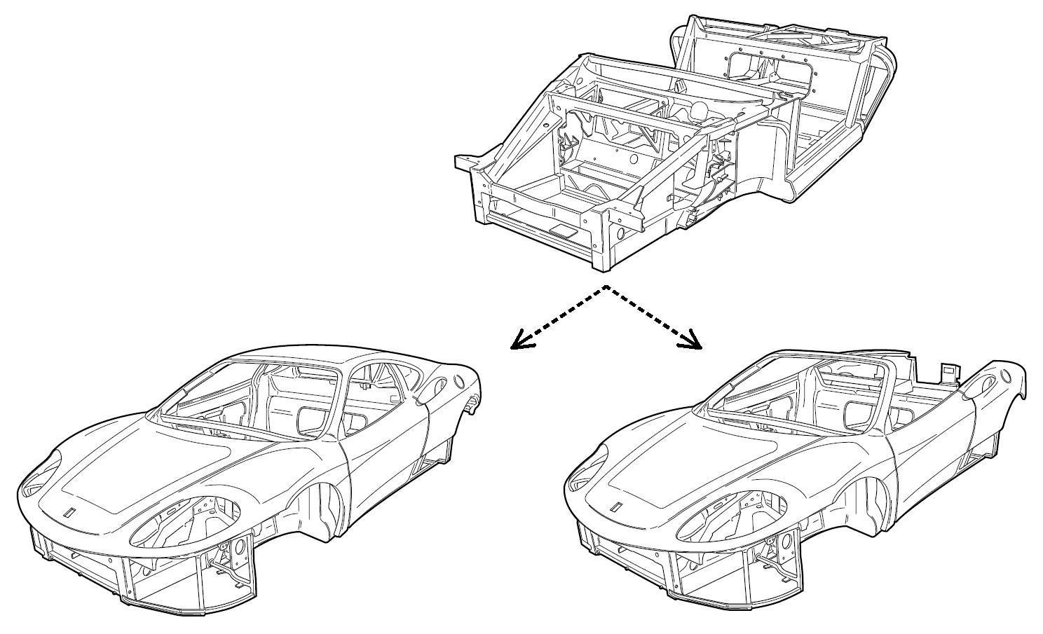 Ferrari 360 Spider Roof