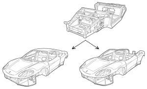 Ferrari 360 Spider Roof | Aldous Voice
