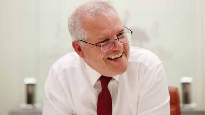 Prime Minister Scott Morrison holds first call with US President Joe Biden