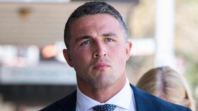 Sam Burgess, arrest, alleged failed drug test, charges