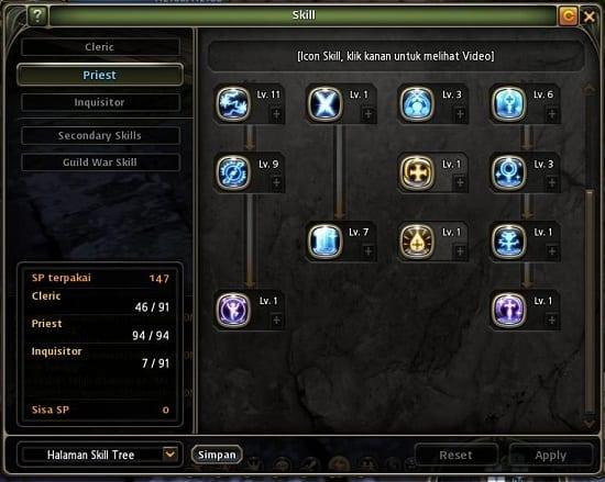 Inquisitor Skill Build