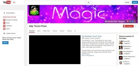 5 Video Populer Weekdays Magic