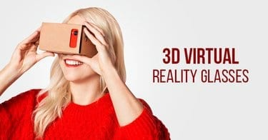 Cara Seru Nonton Video di Smartphone dengan 3D Virtual Reality Glasses