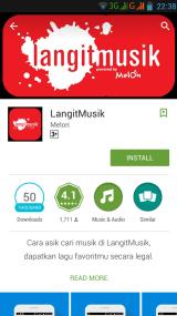 Install LangitMusik