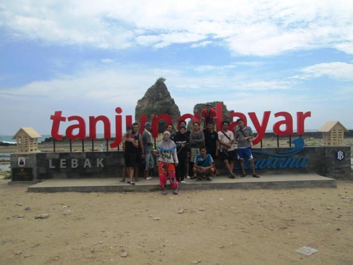 Tanjung Layar Pantai Sawarna