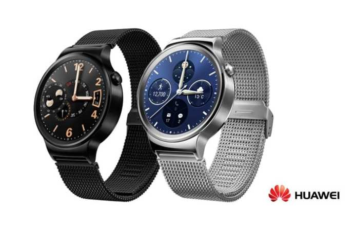 Huawei Watch Steel Black