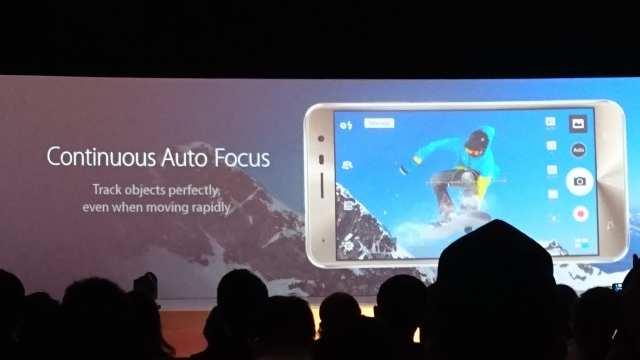 ASUS Zenfone 3 Continous Auto Focus