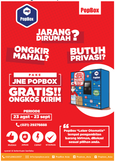 Promo JNE PopBox
