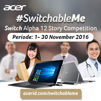 Acer Switchable Me Story Competition