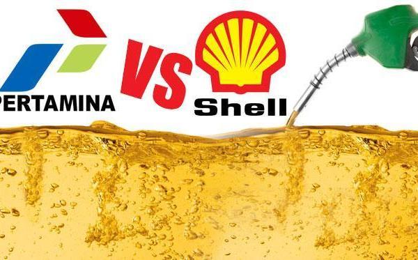 Pertamina atau Shell