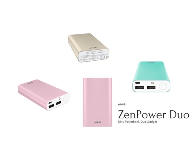 Powerbank Terbaru ASUS ZenPower Duo