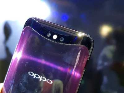 Kamera OPPO Find X