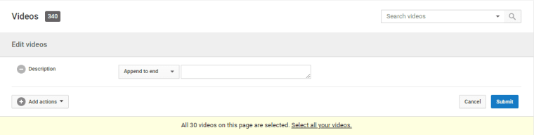 SEO Untuk Youtube Description