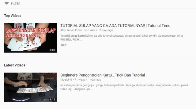 SEO Untuk Youtube Result