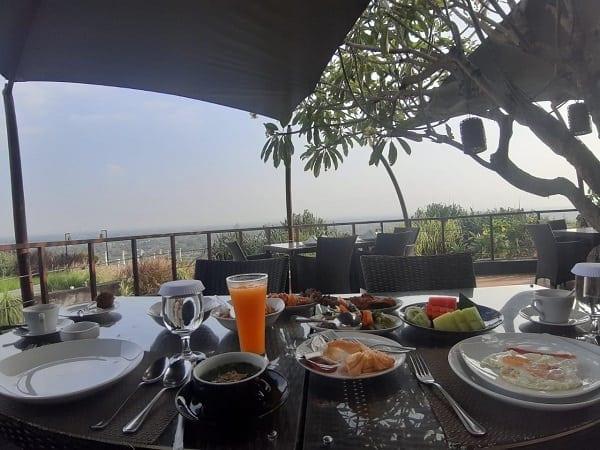 Sarapan Restoran Abhayagiri SWH Resort