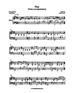 Aldy Sheet Music – sheet music for piano arrangements