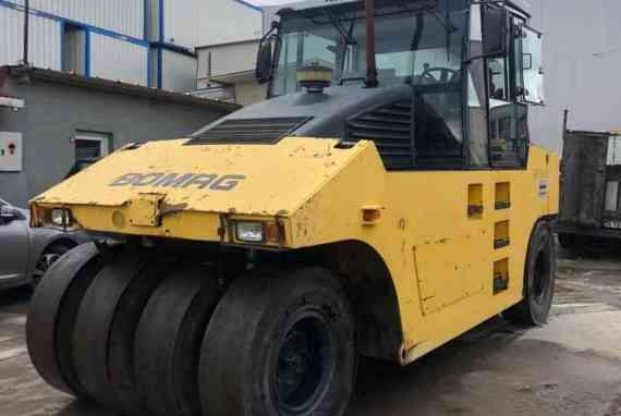 ROAD COMPACTOR BOMAG BW 24 R [4 200 h] [2008]