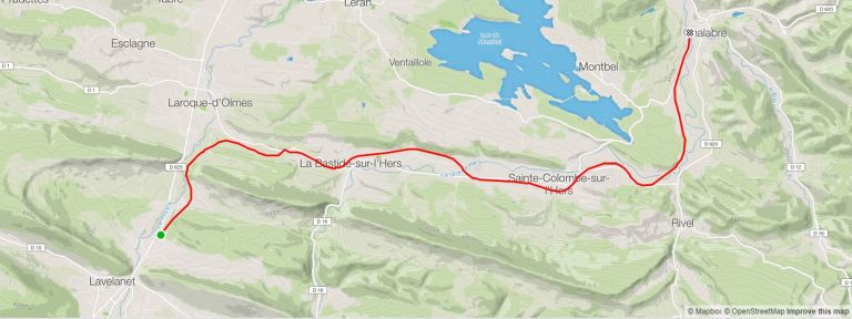 Riding the Voie Verte from Lavelanet to Mirepoix (Part 1)