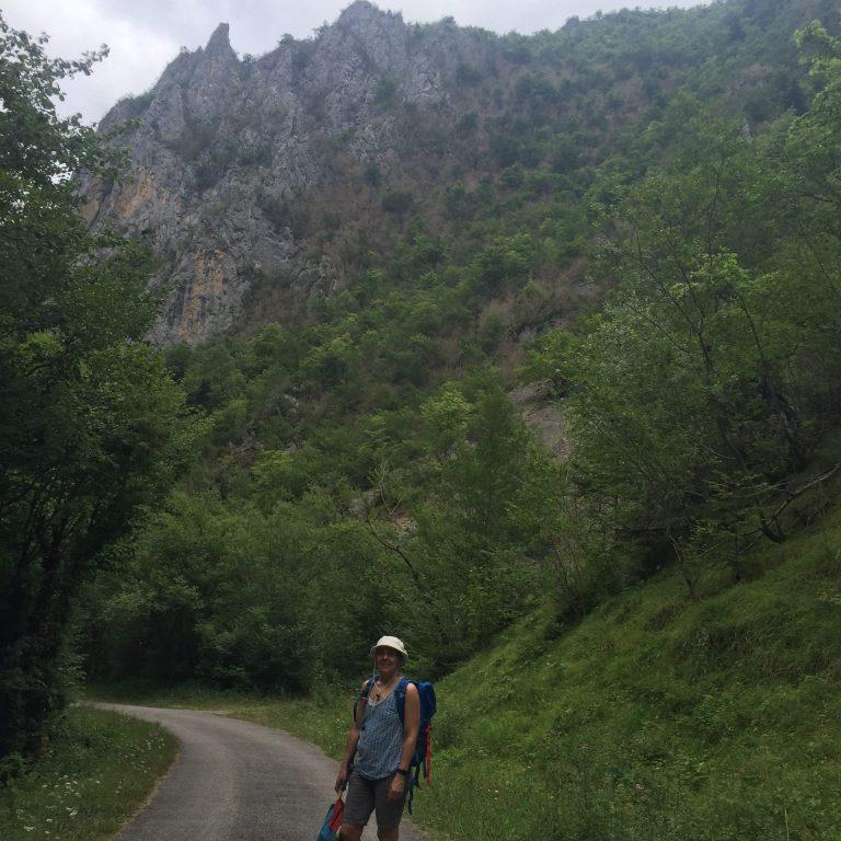 Walking the Gorges de la Frau in the Ariege