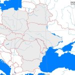 East Europe Outline Map A Learning Family