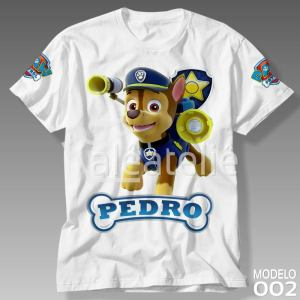 Camiseta Patrulha Canina 002