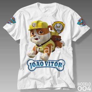 Camiseta Patrulha Canina 004
