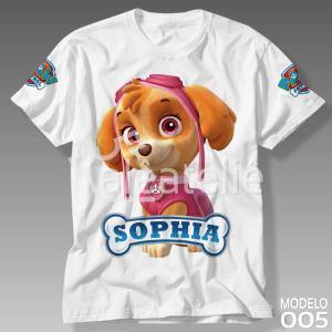 Camiseta Patrulha Canina 005