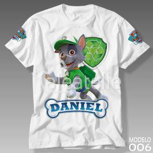 Camiseta Patrulha Canina Rocky