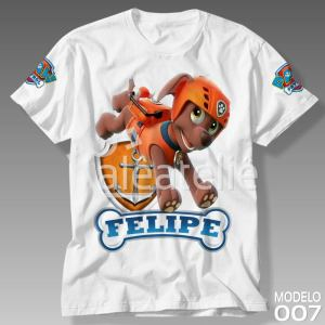 Camiseta Patrulha Canina 007