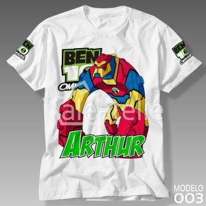 Camiseta Ben 10 Omnitrix 003