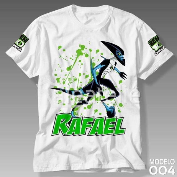 Camiseta Ben 10 Xlr8